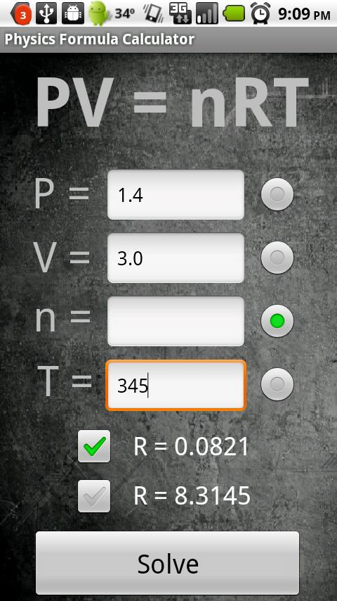 Physics Formula Calculator 1.1 Android Tools