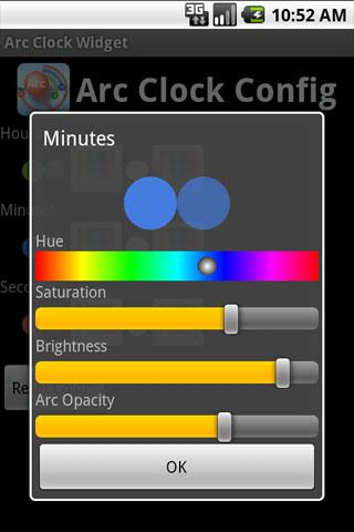 Arc Clock Widget Android Tools