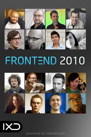Frontend 2010 Android Tools