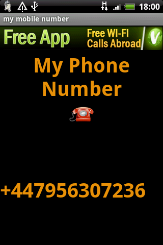 My Mobile Number Reminder Android Tools