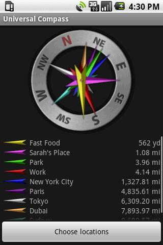 Universal Compass Android Tools