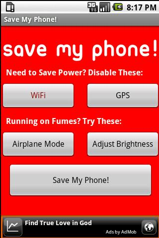 Save My Phone! Android Tools