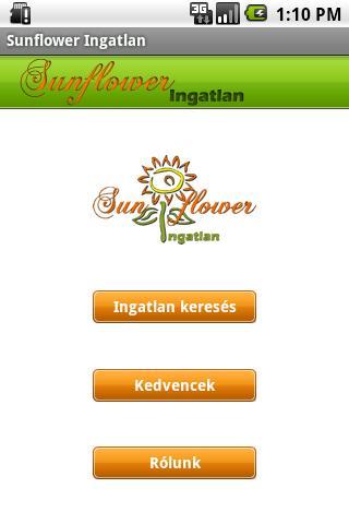 Sunflower Ingatlan Android Tools