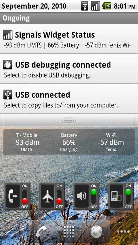 Signals Widget Android Tools