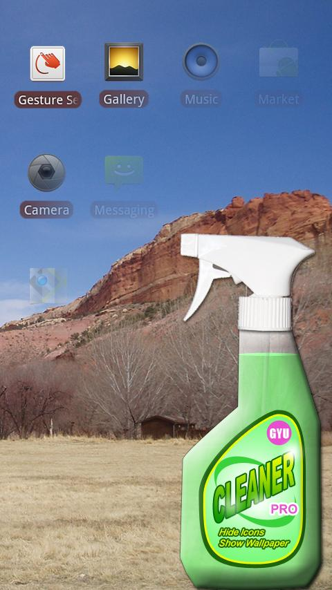 Cleaner Pro (Show wallpaper) Android Tools