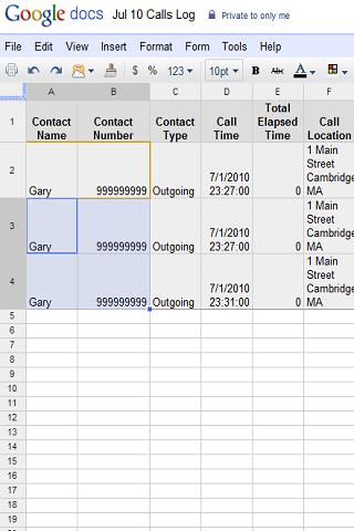 Remote Call Log Android Tools