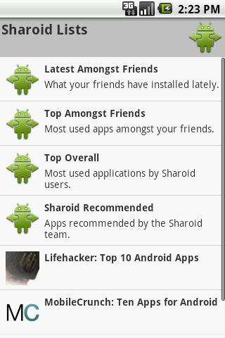 Sharoid (old) Android Tools
