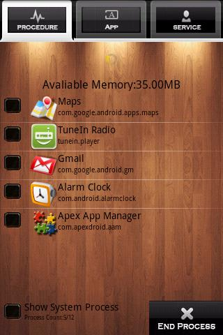 System Manager Android Tools