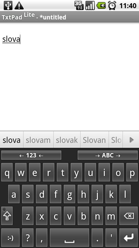 Slovak for AnySoftKeyboard Android Tools