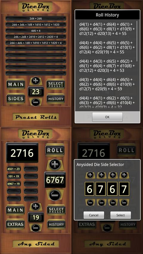 DiceBox Deluxe Android Tools