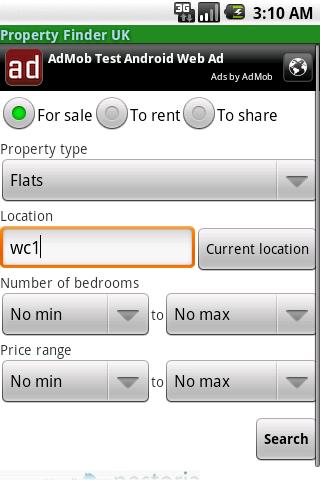 Property Finder UK Android Tools