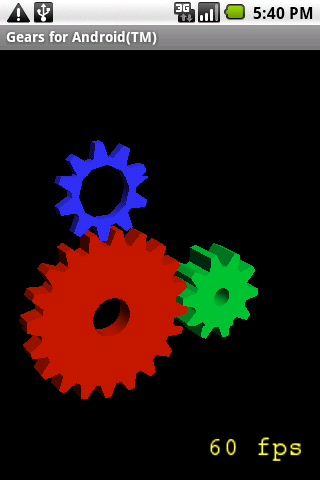Gears (ES1/cupcake+) Android Demo