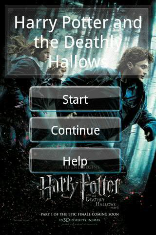 Harry Potter Seven Android Software libraries