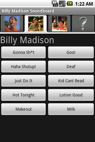 Billy Madison Soundboard Android Entertainment