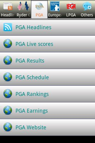 Golf News (Ryder Cup version) Android Sports