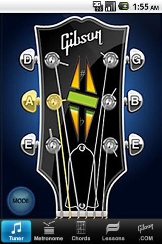 Gibson Learn & Master Guitar Android Tools