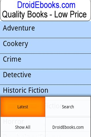 Droid Ebooks – Book Search Android Books & Reference