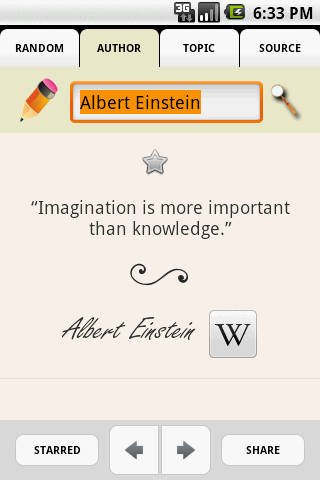 Quotepedia Android Books & Reference