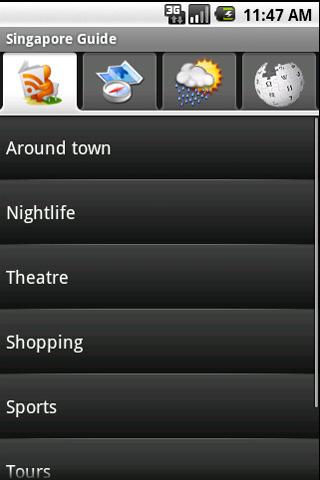 Singapore Guide Android Travel & Local