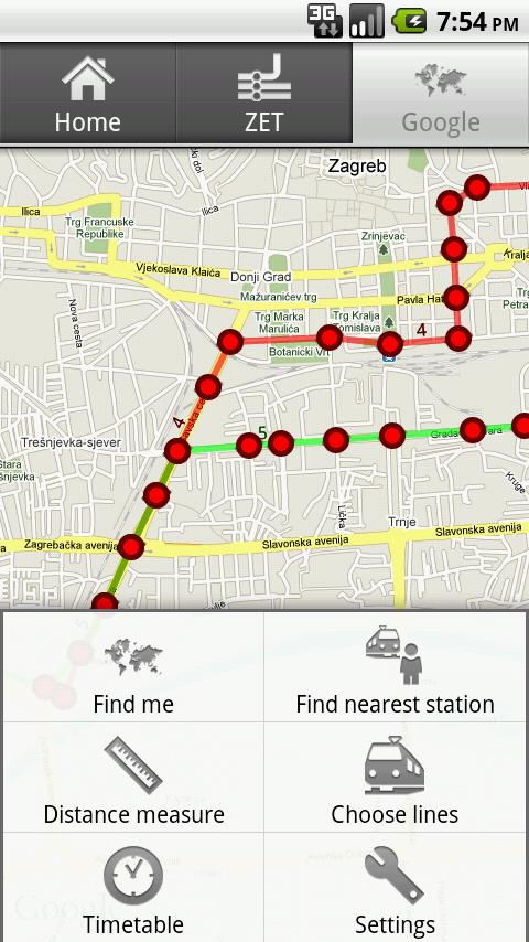 Zagreb Tram Android Travel & Local