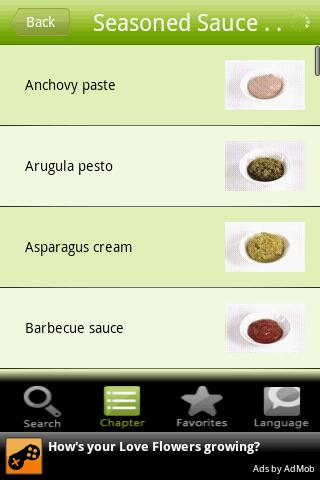 Sauces and Pastes Android Health & Fitness