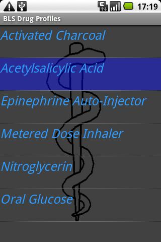 BLS Drug Profiles Android Reference