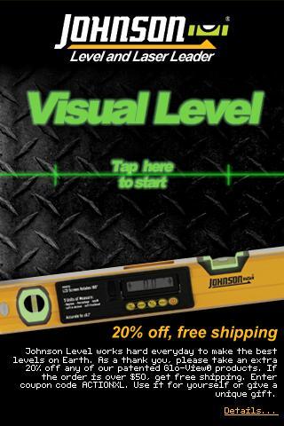 Johnson Visual Level Android Tools