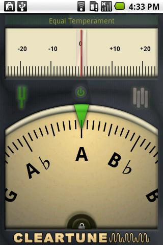 Cleartune – Chromatic Tuner Android Music & Audio