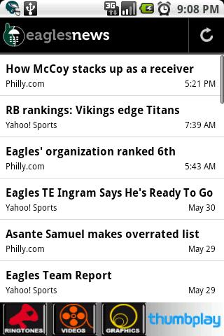 Eagles News Android Sports