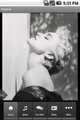 Madonna Android Entertainment