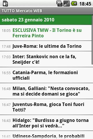 TUTTO Mercato WEB Android Sports
