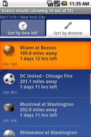 SPORTS TREK Android Sports