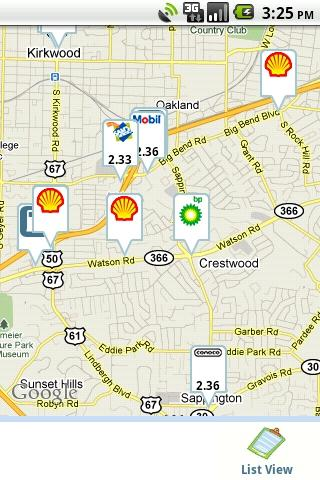 GasBuddy – Find Cheap Gas Android Travel & Local