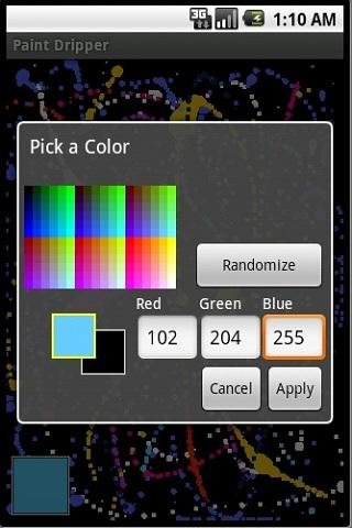 Paint Dripper Android Multimedia