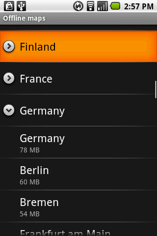 Offline Maps Android Travel