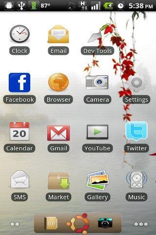 ADW Ubuntu Theme Android Themes