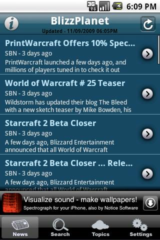 BlizzPlanet Android Entertainment