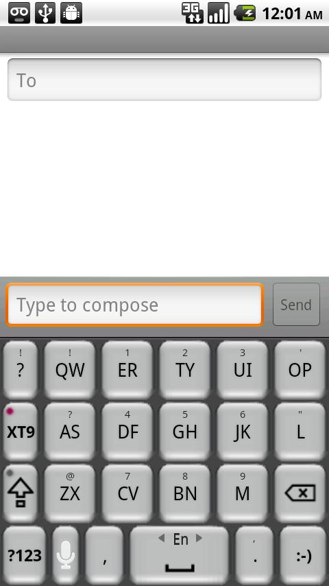 Better Keyboard: Grey by beagz Android Themes