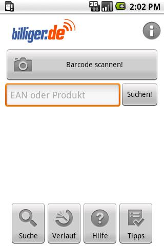 billiger.de – price comparison Android Shopping