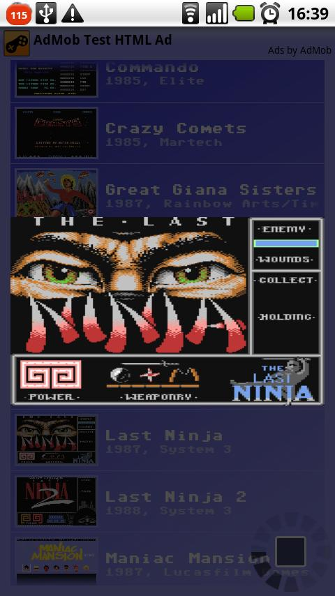 C64 Games Music Collection Android Multimedia