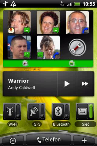 Arti's Fancy Contacts Widget Android Personalization