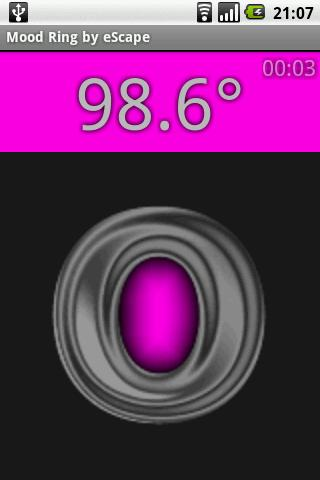 Mood Ring Thermometer Android Entertainment