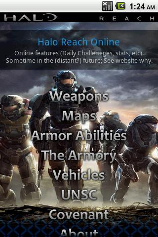 Halo Reach Android Tools