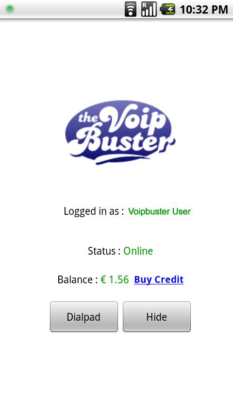 VoipBuster Caller Android Communication