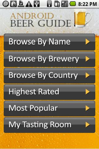 Android Beer Guide Android Social