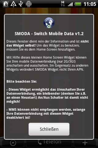 SMODA Widget Android Tools