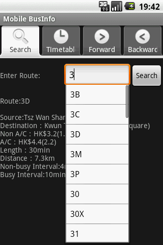 StudioKUMA BusInfo for Android Android Travel & Local