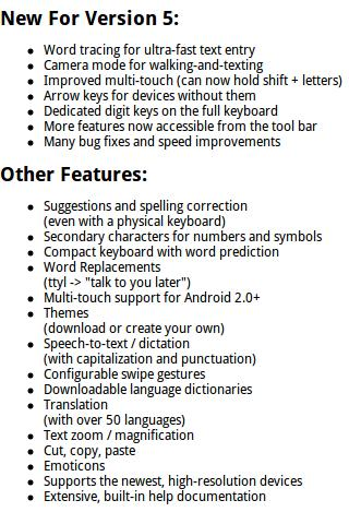 Ultra Keyboard Trial Android Tools