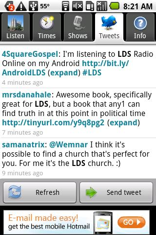 LDS Radio Live Stream Android Lifestyle