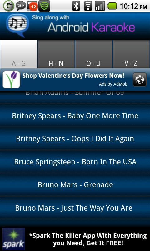Android Karaoke – Sing Along Android Social